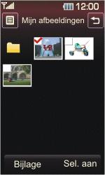 LG KP500 Cookie - E-mail - E-mails verzenden - Stap 11
