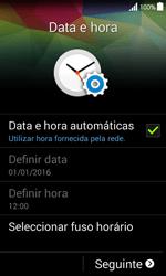 Samsung Galaxy Ace 4 - Primeiros passos - Como ligar o telemóvel pela primeira vez -  6