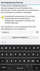 BlackBerry Leap - Instellingen aanpassen - Fabrieksinstellingen terugzetten - Stap 7