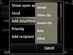 Nokia E6-00 - E-mail - Sending emails - Step 10