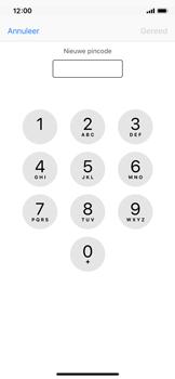 Apple iPhone X - Beveiliging en ouderlijk toezicht - Hoe wijzig ik mijn SIM PIN-code - Stap 8