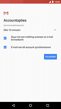 Android One GM5Plus DS - E-mail - handmatig instellen - Stap 20