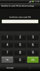 HTC One S - Sécuriser votre mobile - Activer le code de verrouillage - Étape 9