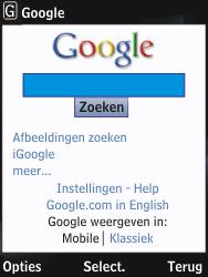 Nokia 2730 classic - Internet - hoe te internetten - Stap 9