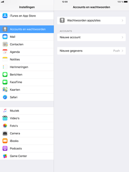 Apple iPad Air 2 - iOS 11 - E-mail - Account instellen (IMAP zonder SMTP-verificatie) - Stap 4