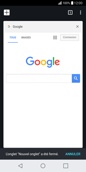 LG Q6 - Internet - Navigation sur internet - Étape 17