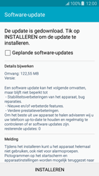 Samsung J500F Galaxy J5 - Software update - update installeren zonder PC - Stap 9