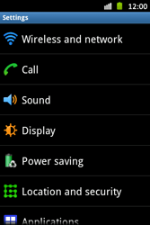 Samsung S6500D Galaxy Mini 2 - Network - Usage across the border - Step 4