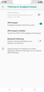 Wiko View 2 Plus - Internet - mijn data verbinding delen - Stap 10