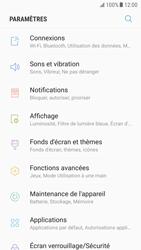 Samsung Galaxy S6 - Android Nougat - Internet - activer ou désactiver - Étape 4
