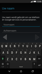 HTC Desire 620 - Applicaties - Account aanmaken - Stap 5