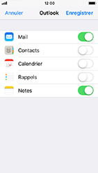Apple iPhone 5s - iOS 12 - E-mail - Configuration manuelle (outlook) - Étape 9