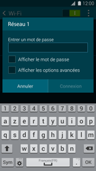 Samsung G900F Galaxy S5 - Wifi - configuration manuelle - Étape 6