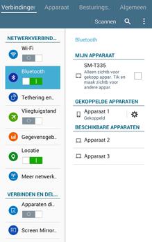 Samsung Galaxy Tab4 8.0 4G (SM-T335) - Bluetooth - Headset, carkit verbinding - Stap 8
