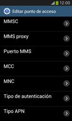 Samsung S7580 Galaxy Trend Plus - Mensajería - Configurar el equipo para mensajes multimedia - Paso 12