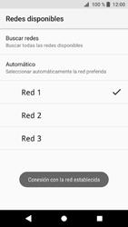 Sony Xperia XZ1 - Red - Seleccionar una red - Paso 11