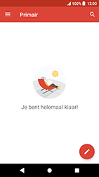 Sony Xperia X Compact - Android Oreo - E-mail - e-mail instellen (gmail) - Stap 14