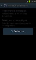 Samsung I8190 Galaxy S III Mini - Réseau - Sélection manuelle du réseau - Étape 8
