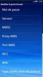 Sony Ericsson Xperia X10 - MMS - configuration manuelle - Étape 10