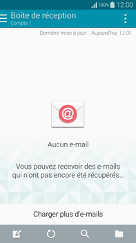 Samsung N910F Galaxy Note 4 - E-mail - Configuration manuelle - Étape 19