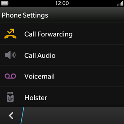 BlackBerry Q10 - Voicemail - Manual configuration - Step 6