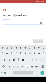 Nokia 8 Sirocco - E-mail - Account instellen (IMAP zonder SMTP-verificatie) - Stap 11