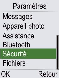 Doro Phone Easy 621 - Sécuriser votre mobile - Personnaliser le code PIN de votre carte SIM - Étape 4