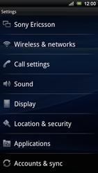 Sony Ericsson Xperia Ray - Mms - Manual configuration - Step 4