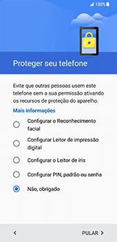 Samsung Galaxy S8 - Primeiros passos - Como ativar seu aparelho - Etapa 13