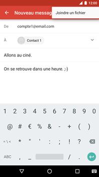 Huawei Google Nexus 6P - E-mail - Envoi d