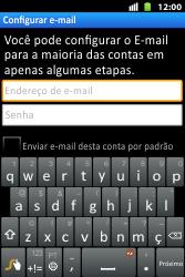 Huawei U8667 - Email - Como configurar seu celular para receber e enviar e-mails - Etapa 6
