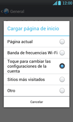 LG Optimus L7 - Internet - Configura el Internet - Paso 26