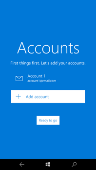 Microsoft Lumia 950 XL - Email - Manual configuration - Step 19