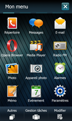 Samsung B7610 Omnia Qwerty - MMS - envoi d'images - Étape 2