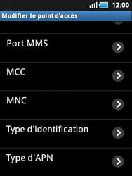 Samsung S5570 Galaxy Mini - Internet - configuration manuelle - Étape 11