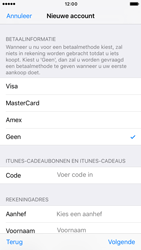 Apple iPhone 7 (Model A1778) - Applicaties - Account aanmaken - Stap 20