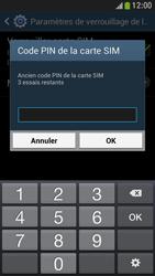 Samsung Galaxy S4 Mini - Sécuriser votre mobile - Personnaliser le code PIN de votre carte SIM - Étape 8