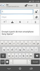 Sony Xpéria T3 - E-mails - Envoyer un e-mail - Étape 5
