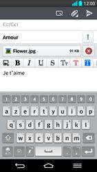 LG G2 - E-mails - Envoyer un e-mail - Étape 16