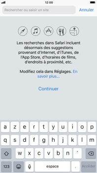 Apple Apple iPhone 6s Plus iOS 11 - Internet - navigation sur Internet - Étape 3