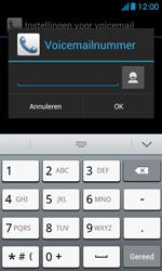 Huawei Ascend Y300 - Voicemail - Handmatig instellen - Stap 7