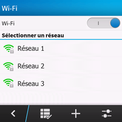BlackBerry Q10 - Wifi - configuration manuelle - Étape 6