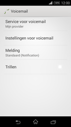 Sony D2203 Xperia E3 - Voicemail - Handmatig instellen - Stap 6