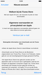 Apple iPhone 6 iOS 9 - Applicaties - Account aanmaken - Stap 10