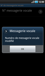 Samsung I9000 Galaxy S - Messagerie vocale - Configuration manuelle - Étape 8