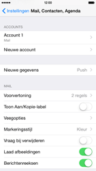 Apple iPhone 6 iOS 8 - E-mail - Account instellen (POP3 met SMTP-verificatie) - Stap 26