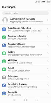 Huawei P Smart - Internet - Dataroaming uitschakelen - Stap 4