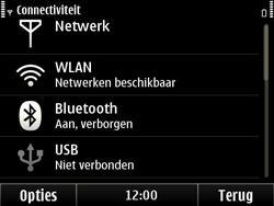 Nokia E6-00 - Wifi - handmatig instellen - Stap 13