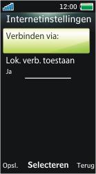 Sony Ericsson U10i Aino - E-mail - Handmatig instellen - Stap 16