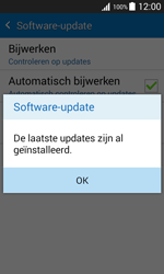Samsung J100H Galaxy J1 - Software update - update installeren zonder PC - Stap 9